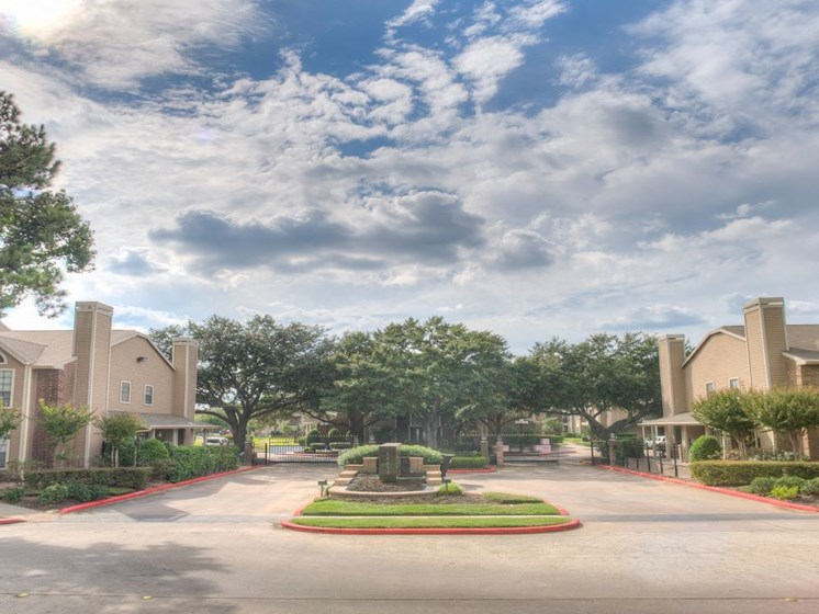 Elegant Exterior View Of Property at Fairfield Cove Apartments, Houston, Texas