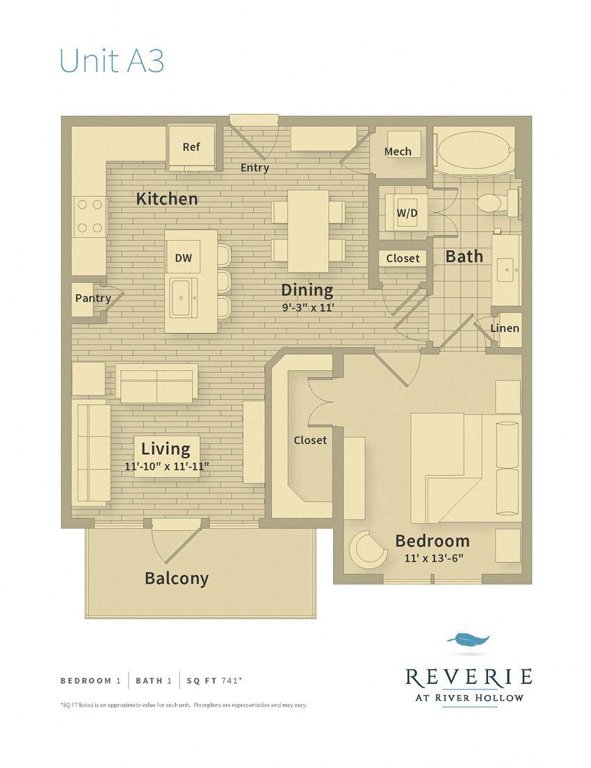 1 Bedroom, 1 bath apartment for rent
