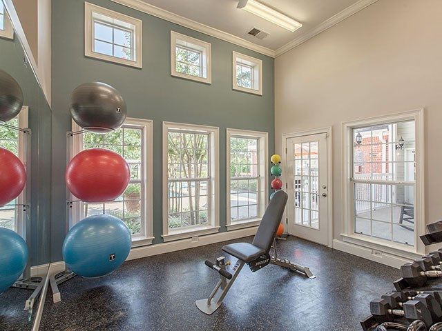 Fitness Center at Reserve at Bridford Apartments in Greensboro