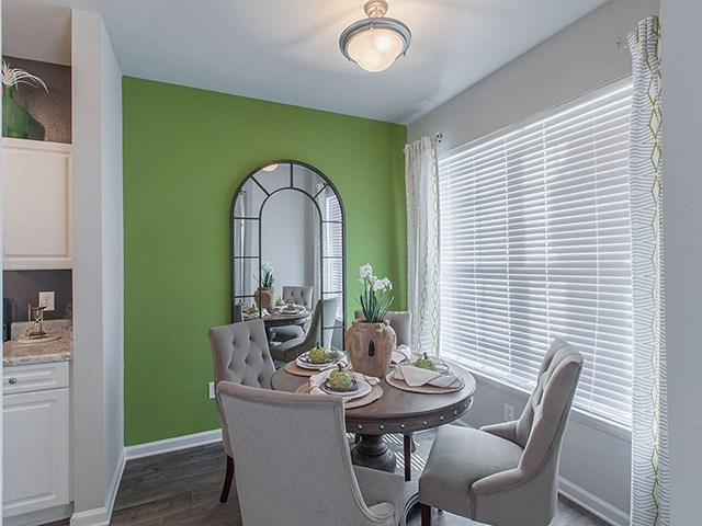 Dining Room in Model at Reserve at Bridford Apartments in Greensboro