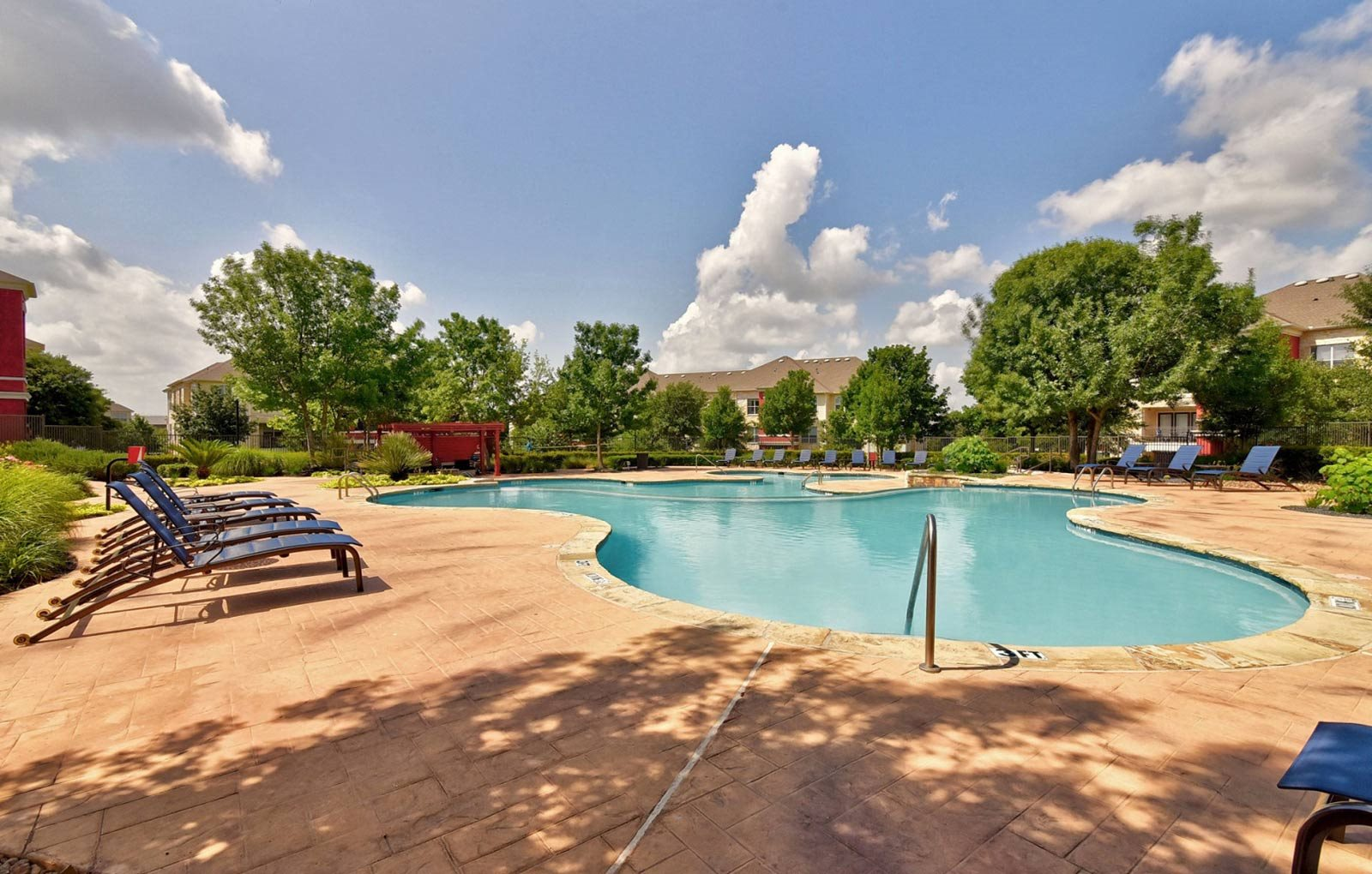 Resort-inspired Pool at City North, Round Rock, Texas