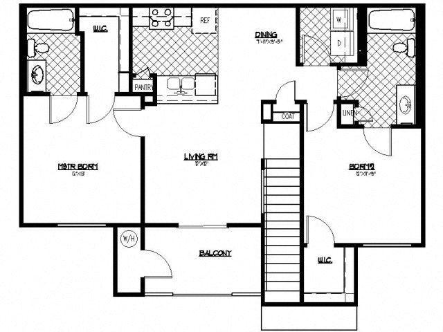 Encore Floorplan at South Blvd, Nevada, 89183