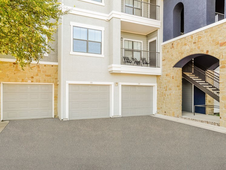 Attached Garages Available at Palm Valley, Round Rock, Texas