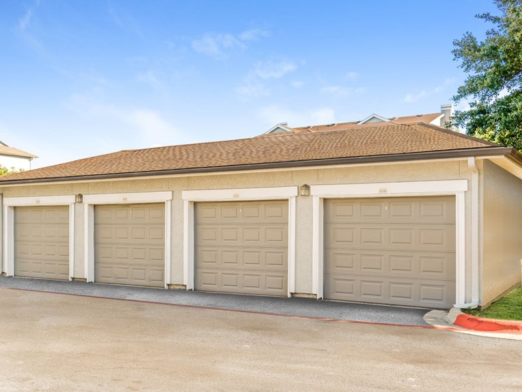 Detached Garage Option Available at Palm Valley, Round Rock, Texas