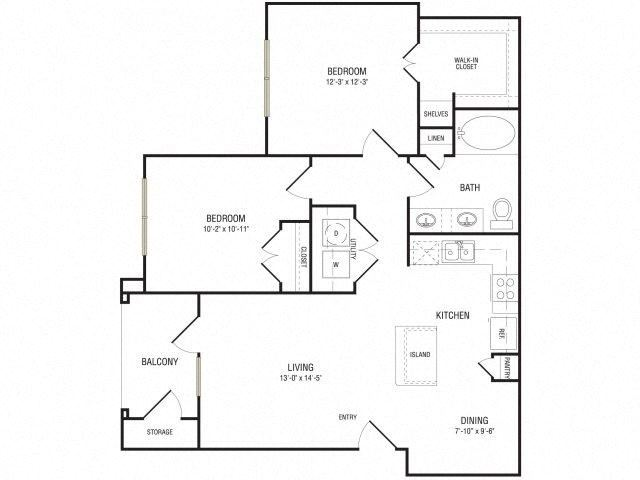 The Grand Floor Plan at Broadstone Travesia, Texas, 78728