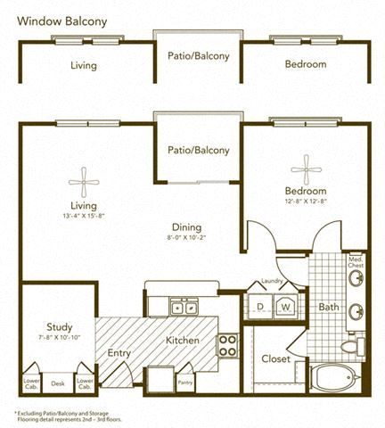 Alta Misa Floor Plan at Soho Parkway, McKinney, Texas