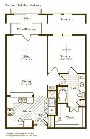Amyris Floor Plan at Soho Parkway, McKinney