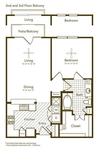 Amyris Floor Plan at Soho Parkway, McKinney, 75070