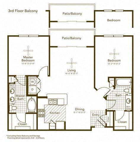 Barda Floor Plan at Soho Parkway, McKinney, TX