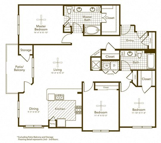 Chapotillo Floor Plan at Soho Parkway, McKinney