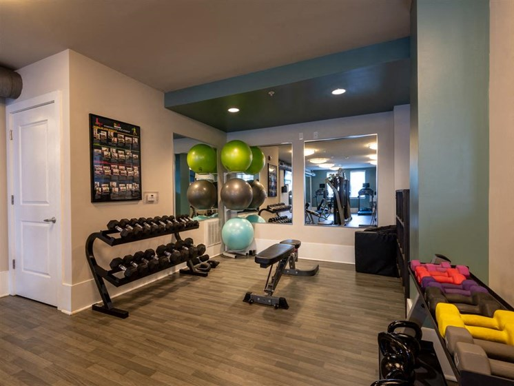 Fitness Center at The Village at Marquee Station, Fuquay-Varina