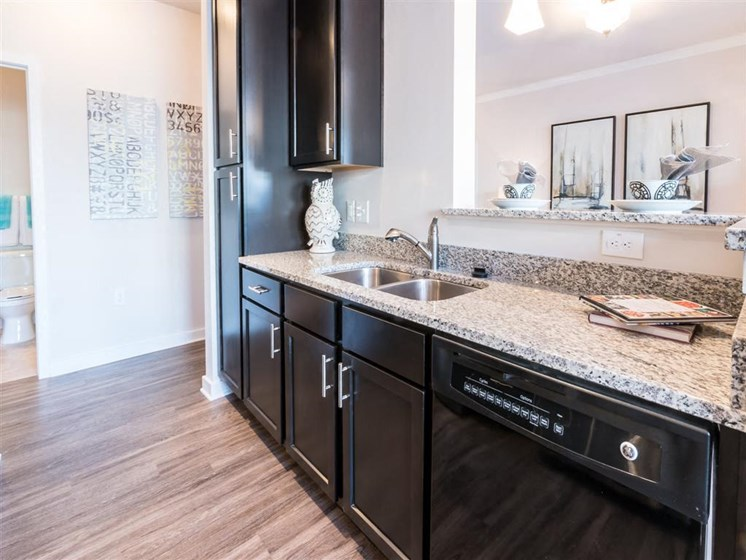 Designer Counter-Top In Wash Room at The Village at Marquee Station, Fuquay-Varina