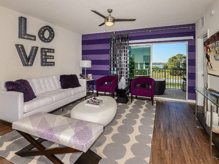 Private Patio/Balcony with Beautiful View at Altis Sand Lake, Orlando