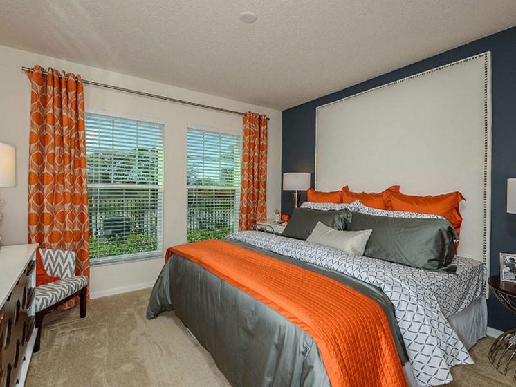 King-Sized Bedrooms at Altis Sand Lake, Florida, 32836