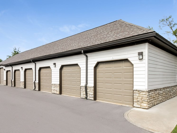 Garage or Storage units available at Copperfield Apartments, Smyrna, TN, 37167