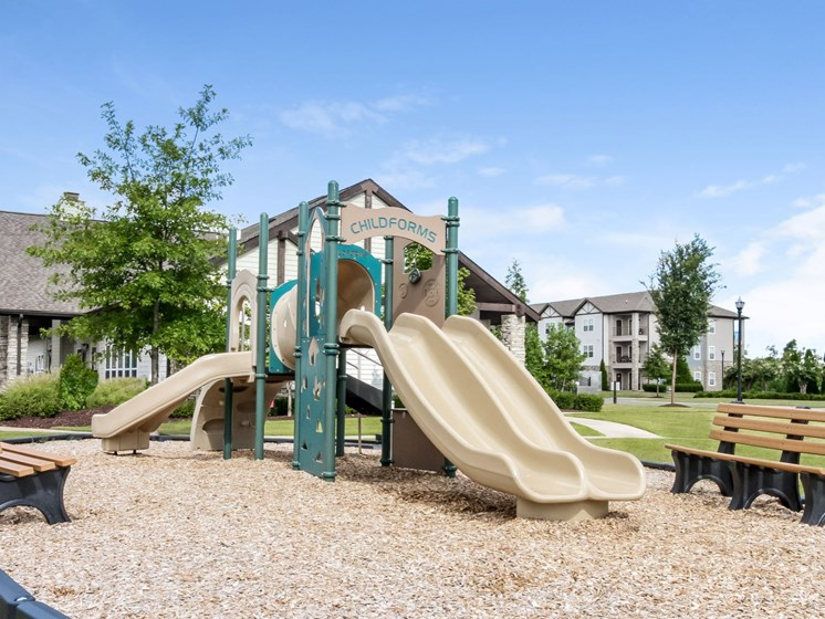 Playground area at Copperfield Apartments, Tennessee, 37167