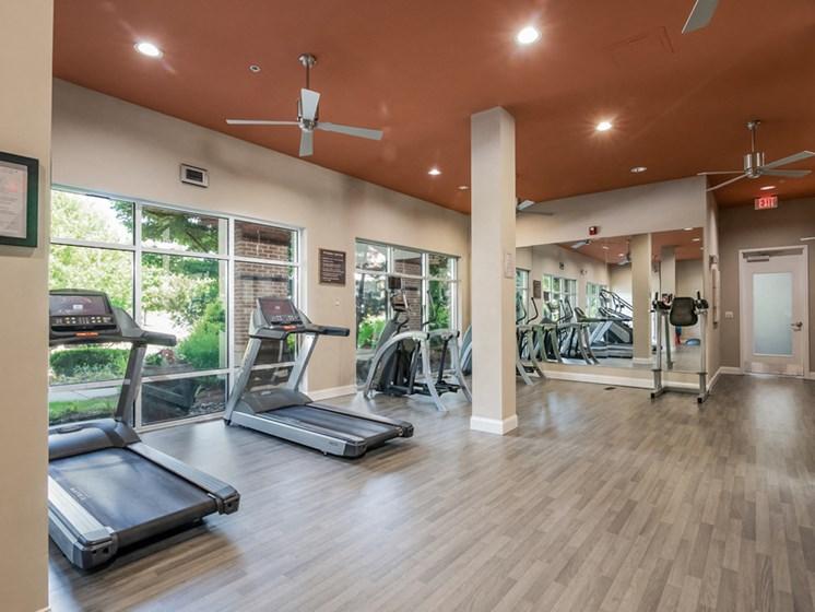 Cardio Machines In Gym at Sorelle, Georgia, 30324