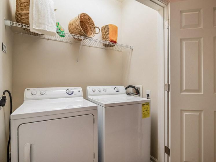 laundry-room at Sorelle, Atlanta, 30324