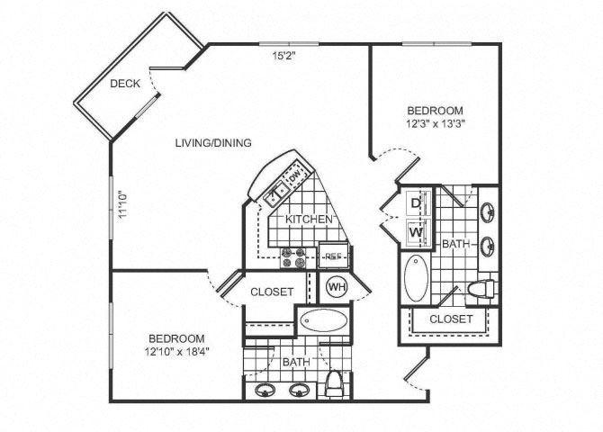 MASON Floor plan at Sorelle, Georgia