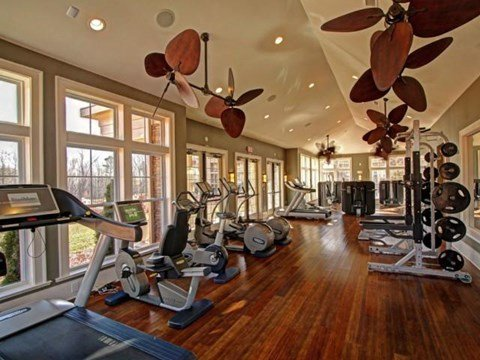 State-of-the-Art Fitness Center at Alexander Village, Charlotte