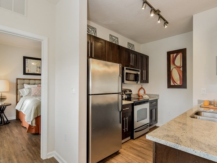 Fully Equipped Kitchen at Altis at Grand Cypress, Lutz, FL, 33549