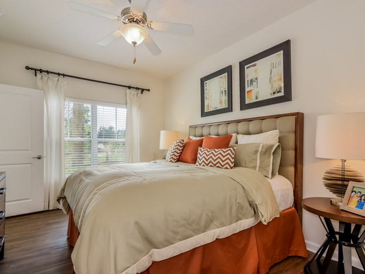 Beautiful Bright Bedroom With Wide Windows at Altis at Grand Cypress, Lutz, FL