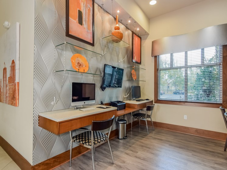 Business Center at Altis at Grand Cypress, Lutz, Florida