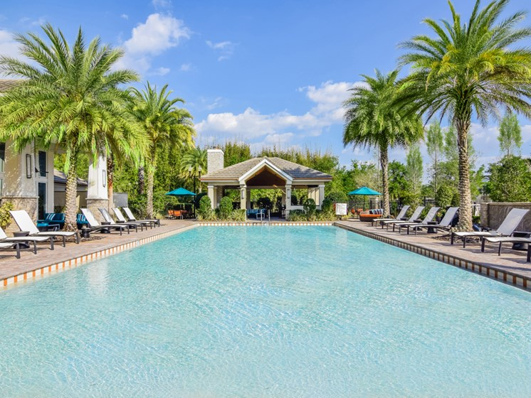 Outdoor Swimming Pool at Altis at Grand Cypress, Florida, 33549