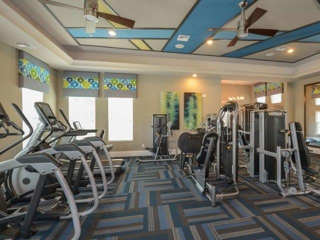 Apartments in East Orlando, FL - The Reserves at Alafaya Fitness Center With Weight Machines, Cardio Machines and Ceiling Fans