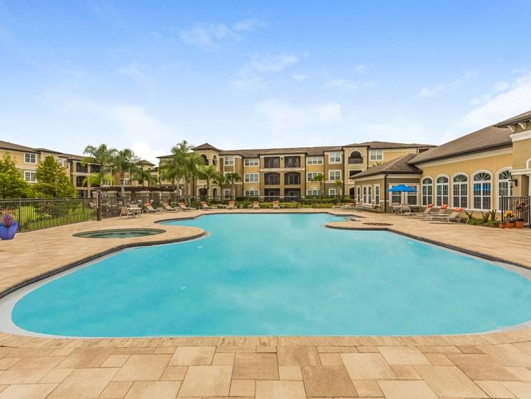 Outdoor Swimming Pool at Reserves at Alafaya, Orlando, 32828
