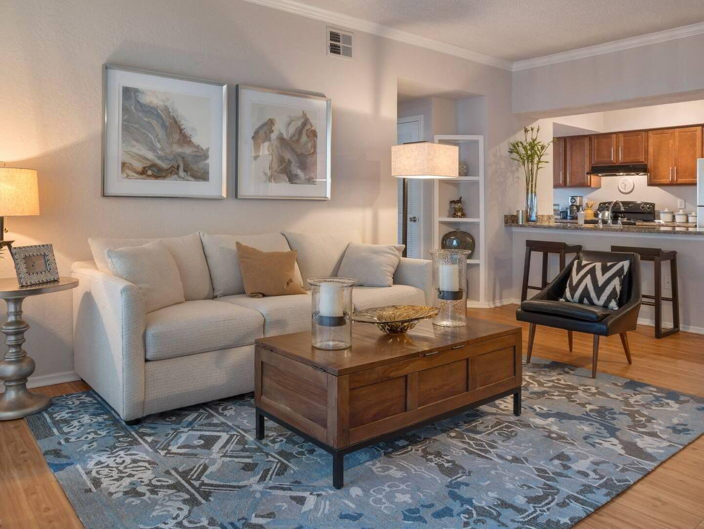 Modern Living Room at Promenade at Carillon, Florida, 33716