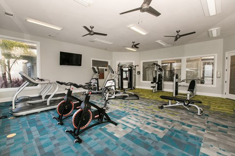 Gym with Cardio Equipment l Rancho Cordova, CA Avion Apartments logo