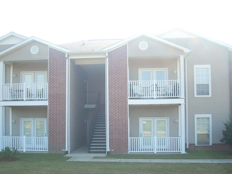 Exterior Property View at Piedmont Park Apartments, Hattiesburg, 39401