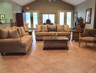 Beautiful Clubhouse at Piedmont Park Apartments, Hattiesburg, MS, 39401