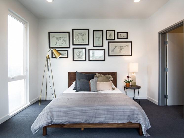 Goat Blocks Apartments Model Bedroom