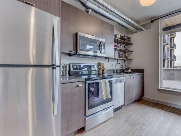 Goat Blocks Apartments Kitchen and Window