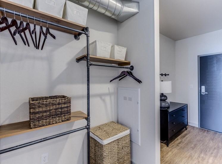 Goat Blocks Apartments Closet Space