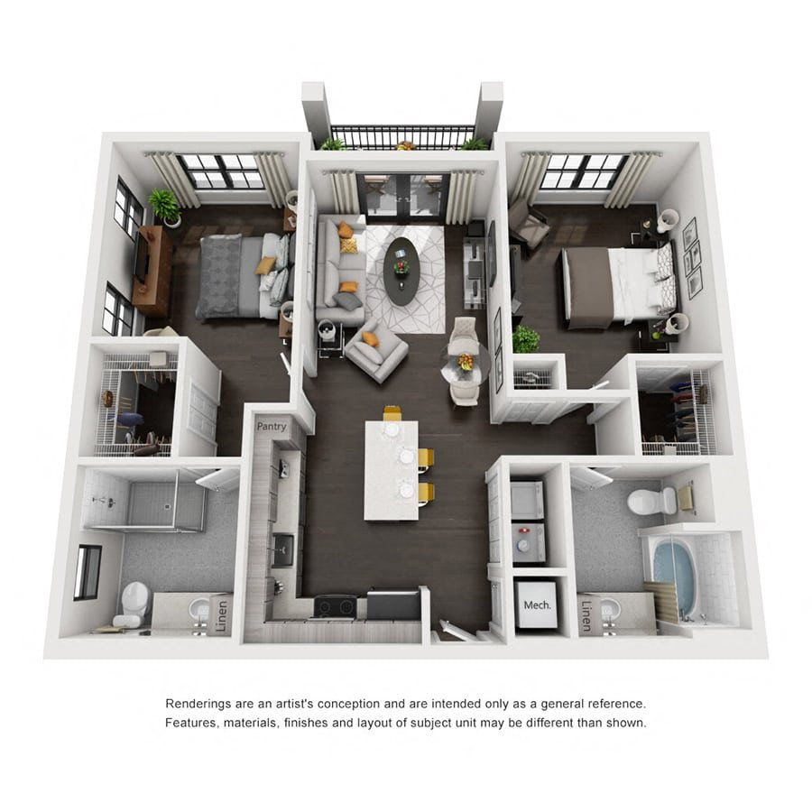 Floor Plans Of Addison Place Apartments In Naples, FL