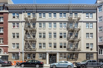 970 Geary St. 1 Bed Apartment for Rent Photo Gallery 1
