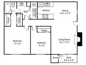 Sq Ft Apartment Floor Plans Square Feet Floor Plan Home