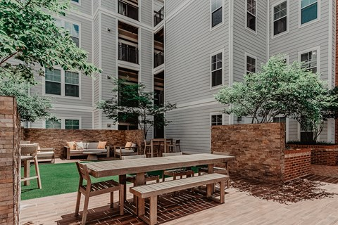 Outdoor patio and Grill terrace