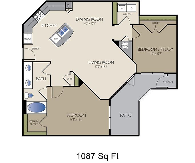 2125 Yale - Houston, TX - The Yale floor plan The Heights