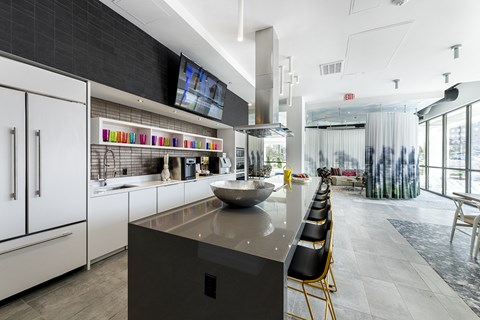 Mission Lofts Apartments Demonstration Kitchen