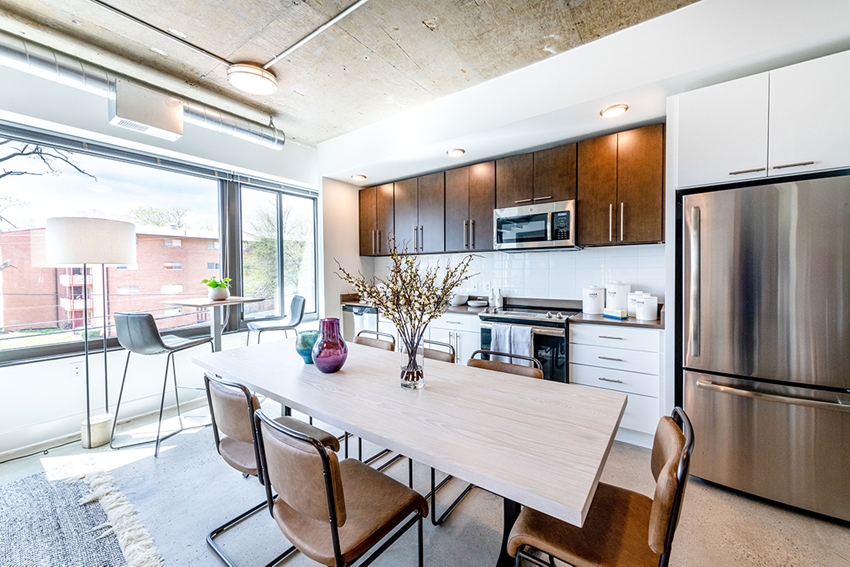 Mission Lofts Apartments Kitchen Area