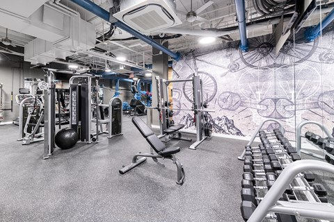 Mission Lofts Apartments Fitness Center