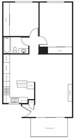Images Bedroom Sq Ft Apartment With Garage Floor Plans
