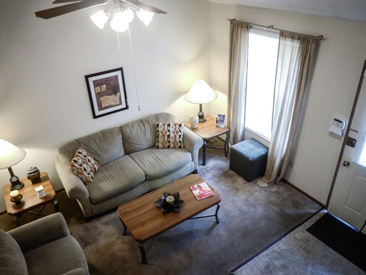 Soft Comfortable Sofa at Parkside at Maple Canyon, Columbus