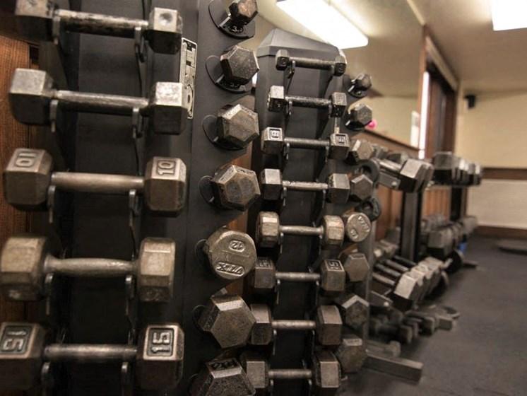Apartments in Marquette, MI fitness center