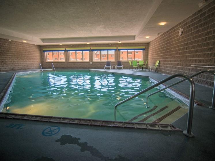 Indoor Pool at Tourville Apartments in Marquette, MI