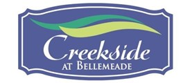 Creekside at Bellemeade Community Logo Purple and Green